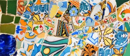 fine arts: Abstract mosaic