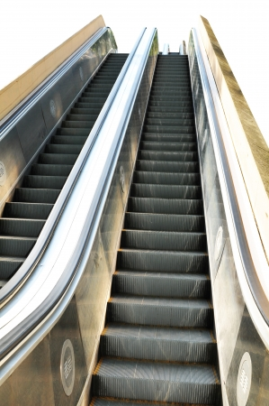 Escalator isolated  Stock Photo - 14950459