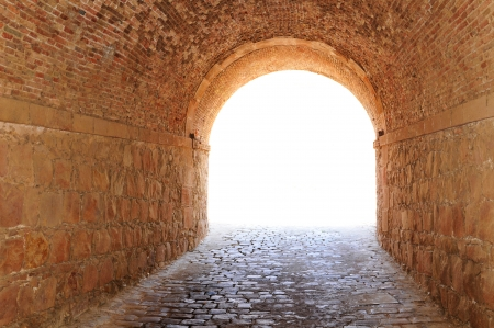 light at the end of the tunnel: Tunnel
