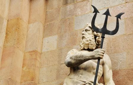 Barcelona, Spain - 08 July, 2012: Architectural detail in the Parc de la Ciutadella in Barcelona, Spain