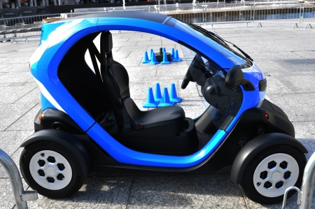 Electric car photo