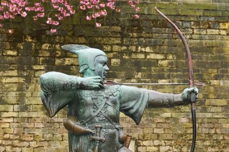 robin hood: Robin Hood statue