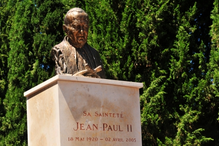 john: Pope John Paul II