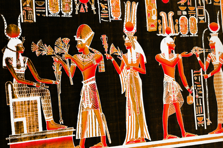 ancient egyptian civilization: Egyptian theme Stock Photo