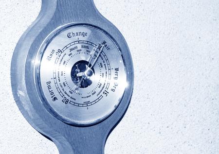 barometer: Wooden barometer
