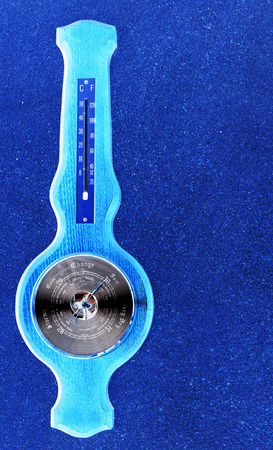 barometer: Abstract barometer Stock Photo