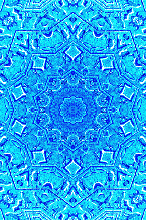 Abstract kaleidoscope suitable as background