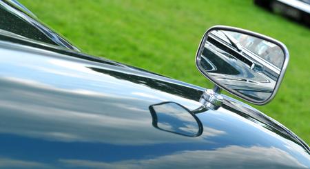 car grill: Vintage car detail