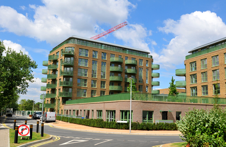 new build: Construction site