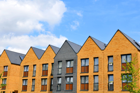 property development: Generic architecture of newly built houses