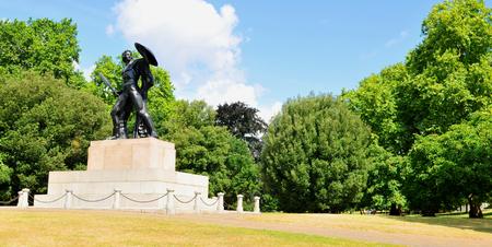 hyde: Hyde Park in London UK
