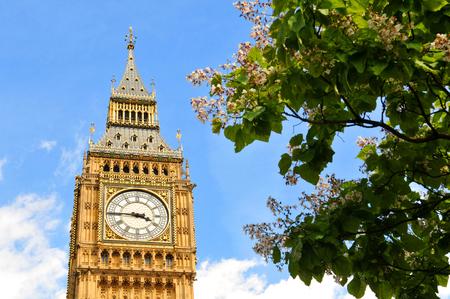 england big ben: Big Ben in London, UK Stock Photo