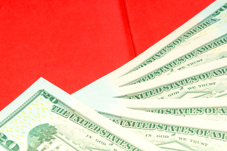 us dollars: US dollars abstract background