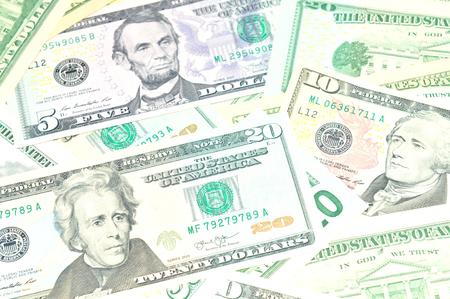 refunds: US Dollar background