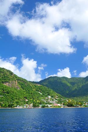 carribean: Coastline in the Carribean Sea Stock Photo