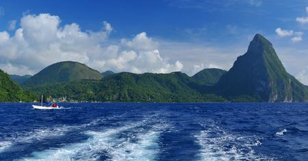 Saint Lucia coastline