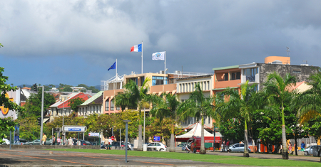 Panorama of Fort de France, Martinique