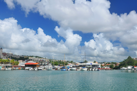 martinique: Martinique Stock Photo
