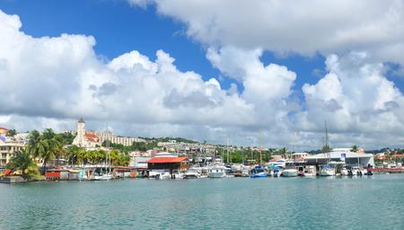 martinique: Panorama of Fort de France, Martinique