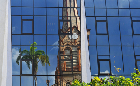 arquitectura abstracta: Configuraci�n abstracta en Fort-de-France, Martinica
