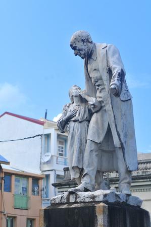 overseas: Statue of Victor Schoelcher in Fort de France, Martinique