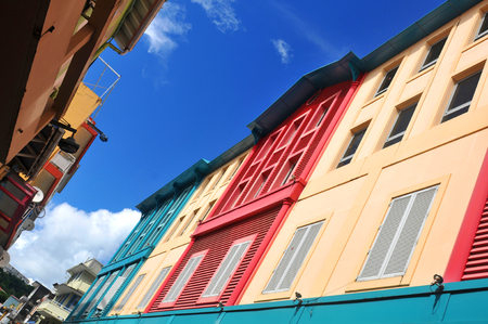 colonial house: Abstract architecture in Fort de France, Martinique