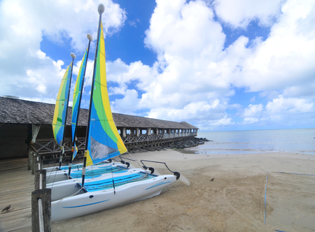 saints: Pier in Saint Lucia, Caribbean