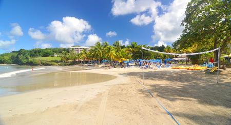 blue lagoon: Caribbean beach