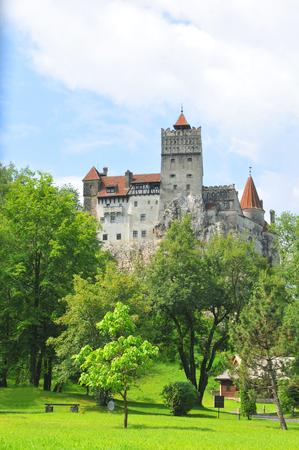 brasov: Dracula Castle in Bran, Brasov, Transylvania, Romania