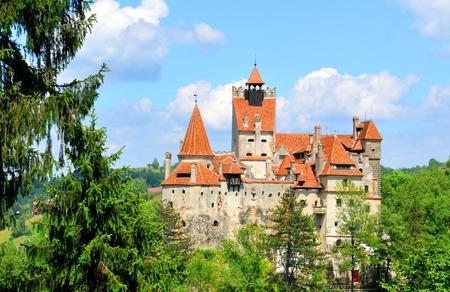 transylvania: Dracula Castle in Transylvania, Romania Editorial