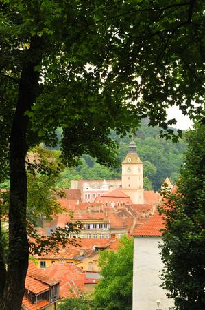 brasov: Old town of Brasov in Transylvania, Romania