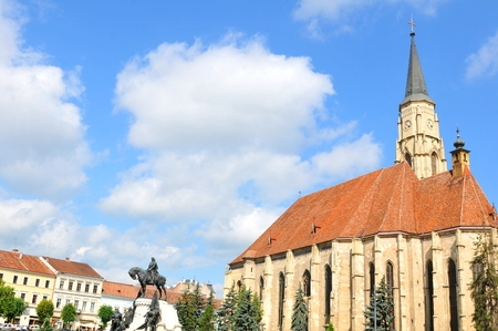 michael: The Church of Saint Michael is an iconic Gothic-style Roman Catholic church in Cluj-Napoca.