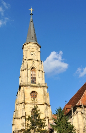 saint michael: The Church of Saint Michael is an iconic Gothic-style Roman Catholic church in Cluj-Napoca.
