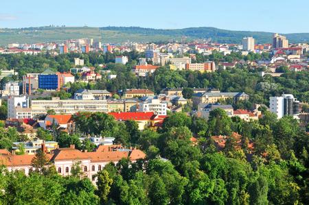 Aerial view of Cluj Napoca, Romania
