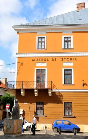 napoca: Cluj Napoca, Romania - July 3, 2015: National Museum of Transylvanian History in Cluj Napoca, Romania