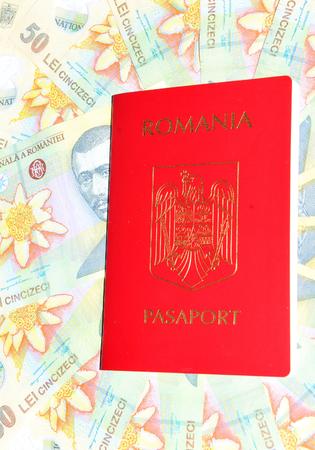 passeport: Passeport et monnaie roumaine
