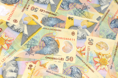 romanian: Romanian currency