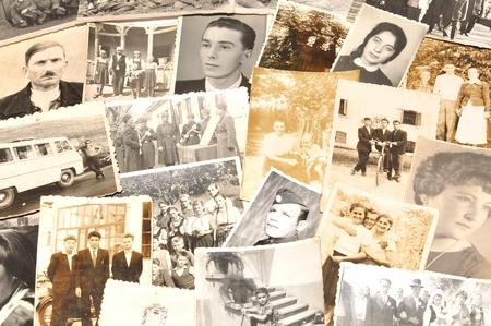 Alte Familienfotos Standard-Bild - 50329999