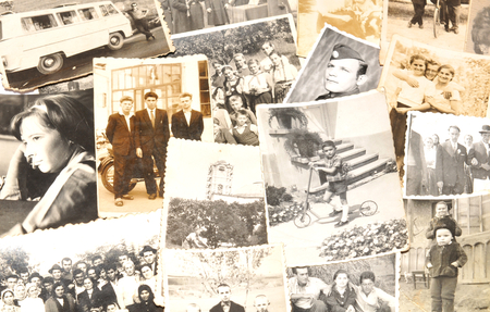family memories: Old photographs