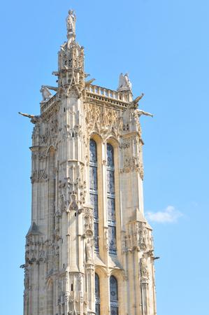 rivoli: Gothic architecture in Paris, France Editorial