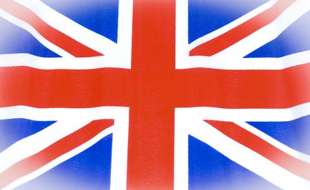 flack: Great Britain Union Jack flack background Stock Photo