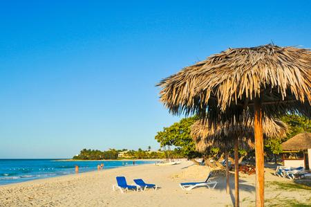 varadero: Panorama of Varadero beach in Cuba