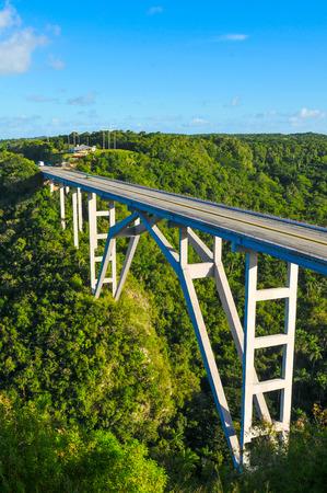 Panorama of the road to Matanzas, Cuba