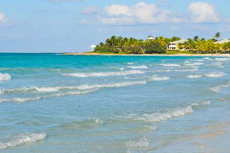 Varadero beach in Cuba, Caribbean Stock Photo