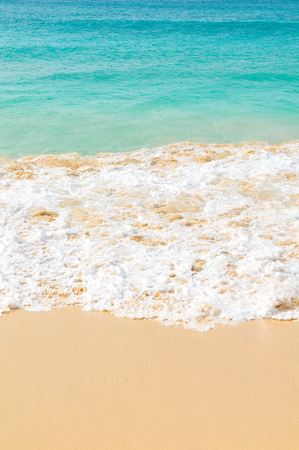 Detail of exotic waves in Cape Verde, Africa Stock Photo