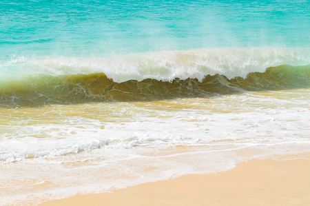Detail of exotic waves in Cape Verde
