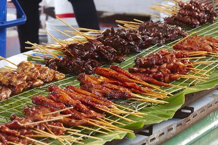 phuket food: Phuket weekend night market