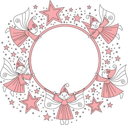 photo frame for girl