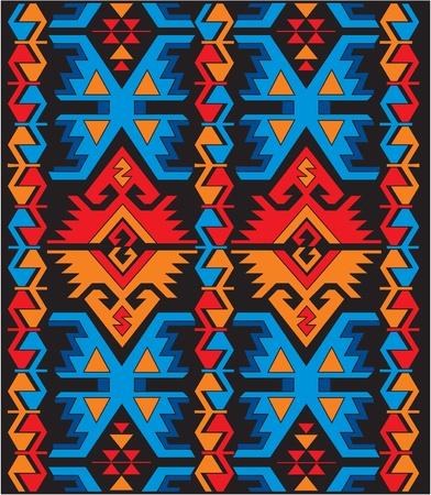 vector Mexicaanse etnische sieraden Stock Illustratie