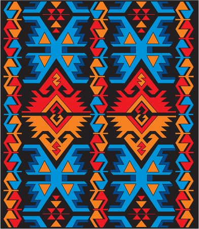 ethnic pattern: vector mexican ethnic ornaments